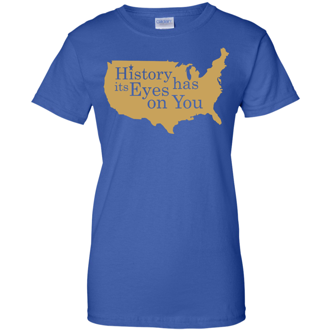 image 696px Hamilton Clothing history has its eyes on you T Shirt