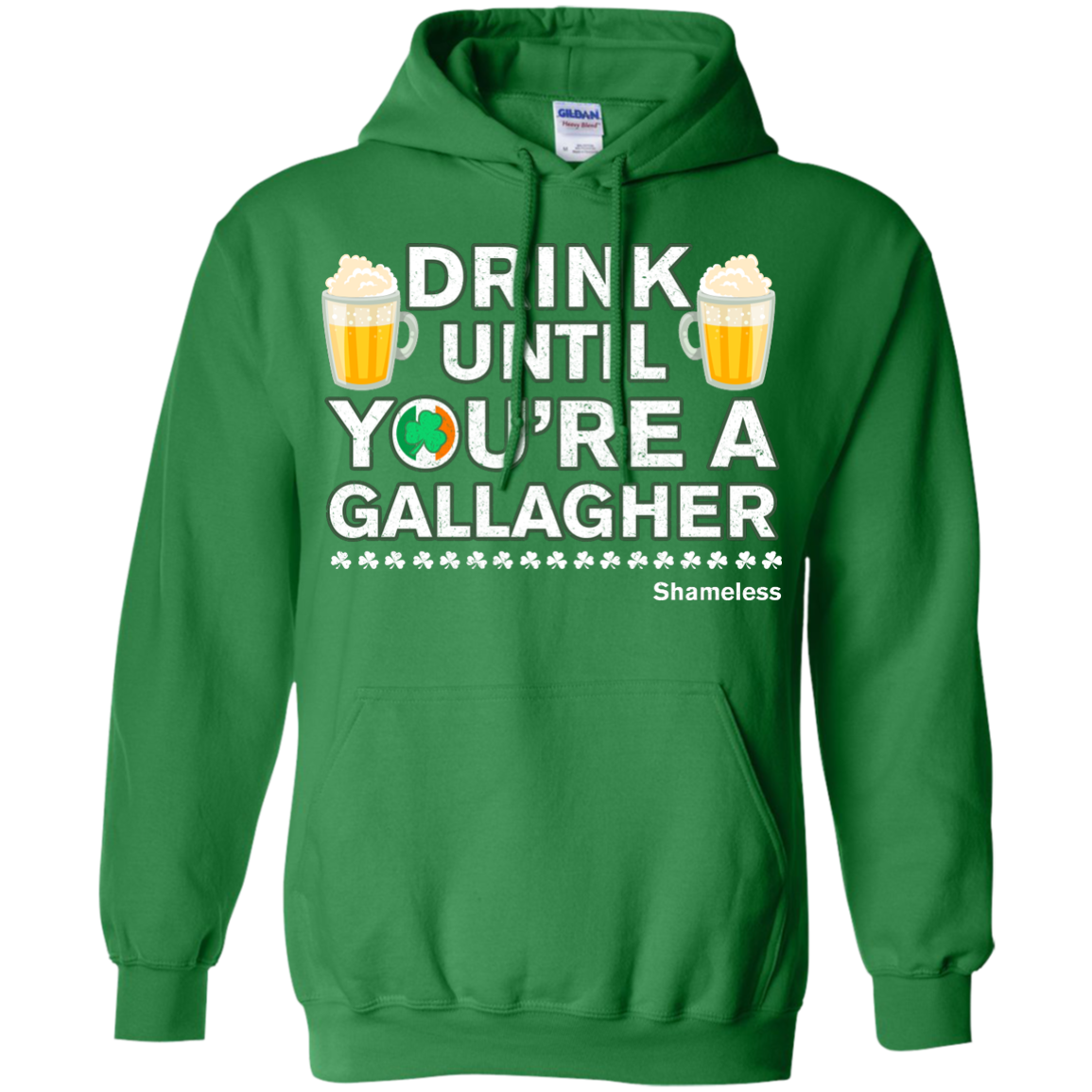 image 7px St Patrick's Day: Drink Until You Are A Gallagher T Shirt