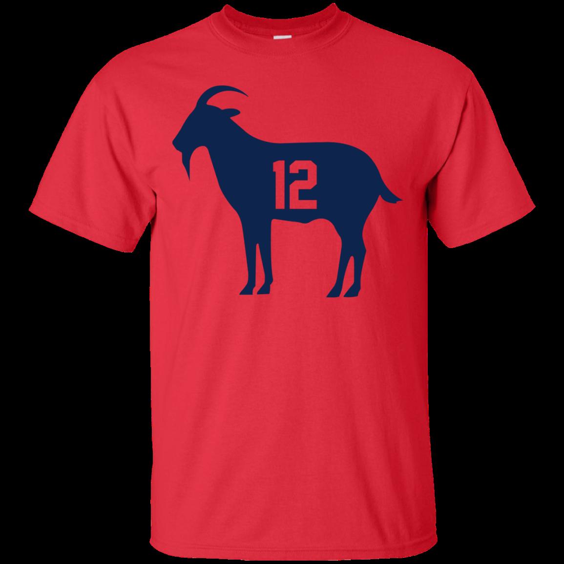 image 75px Goat Tb 12 Tom Brady T Shirt, Hoodies, Tank Top