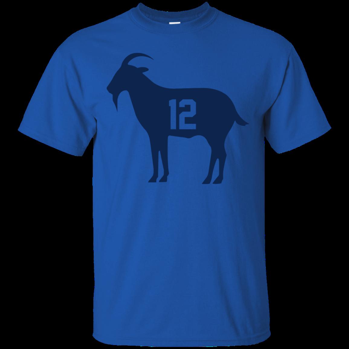 image 76px Goat Tb 12 Tom Brady T Shirt, Hoodies, Tank Top