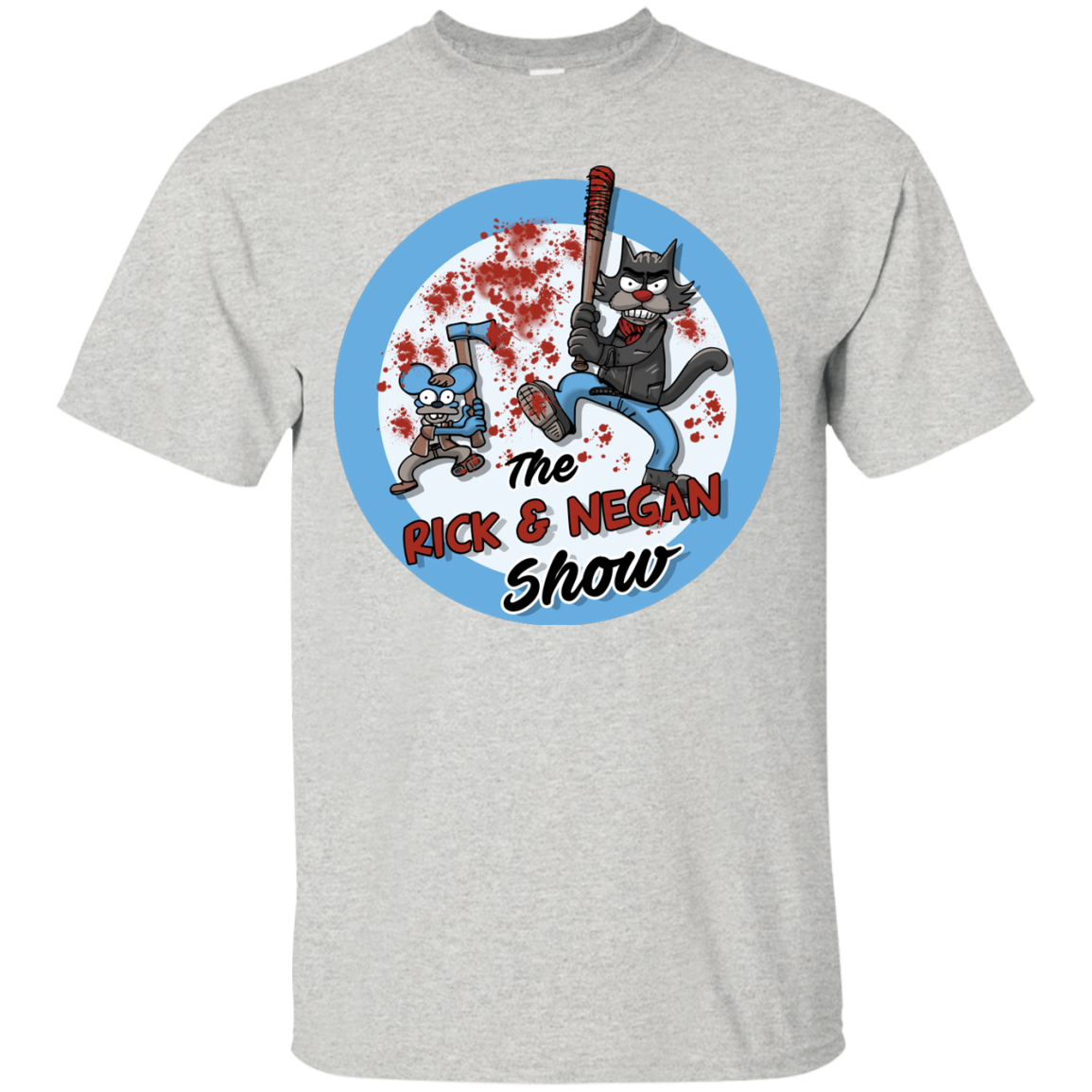 Walking Dead: The Rick and Negan Show T-Shirt, Hoodies
