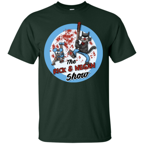 image 787 490x490px Walking Dead: The Rick and Negan Show T Shirt, Hoodies