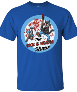 image 788 247x296px Walking Dead: The Rick and Negan Show T Shirt, Hoodies