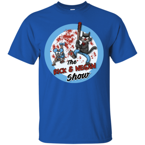 image 788 490x490px Walking Dead: The Rick and Negan Show T Shirt, Hoodies