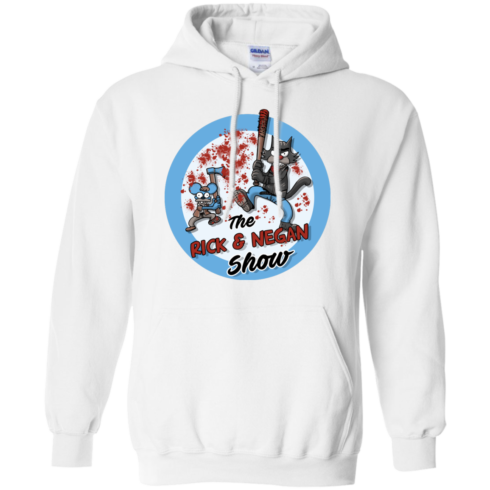 image 792 490x490px Walking Dead: The Rick and Negan Show T Shirt, Hoodies