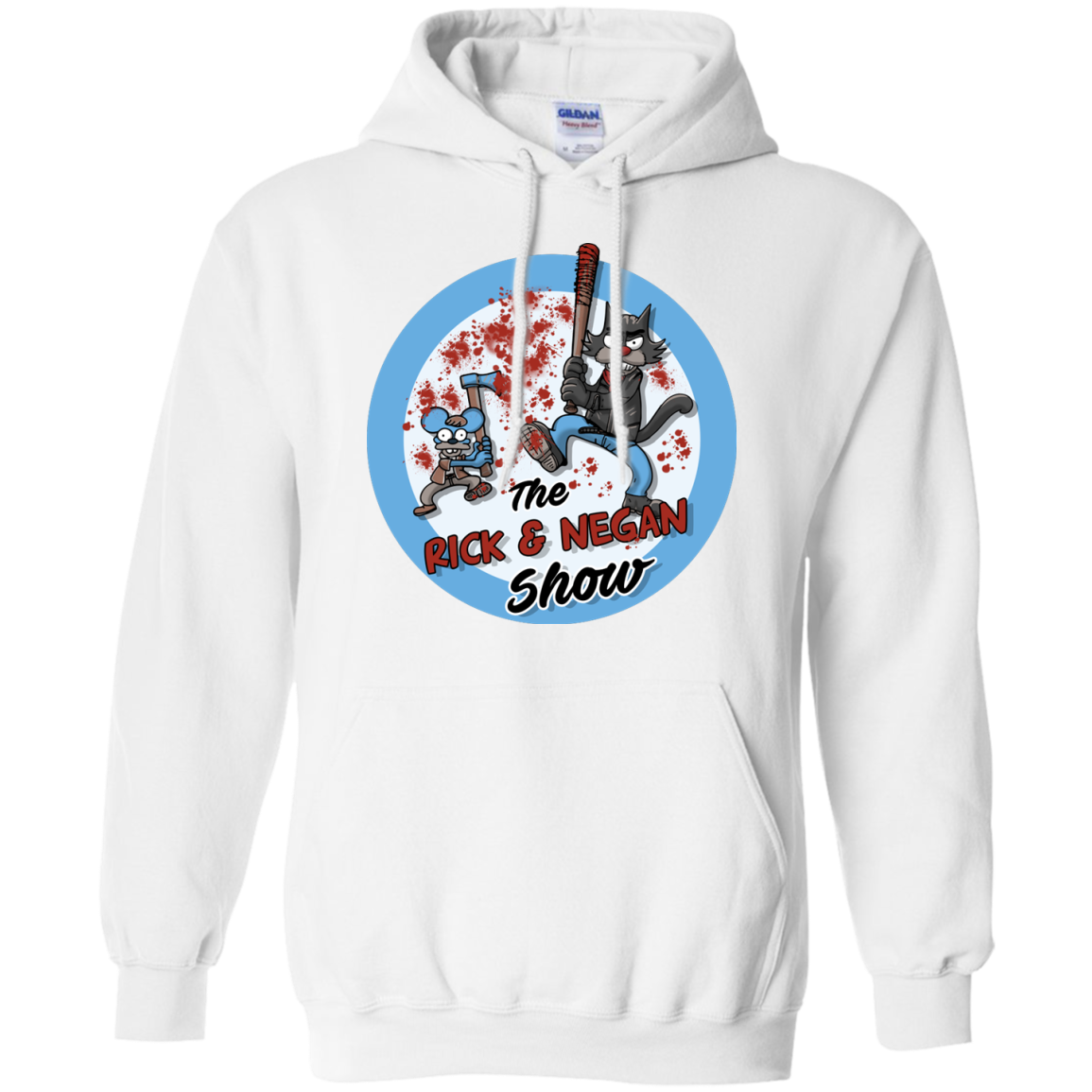 image 792px Walking Dead: The Rick and Negan Show T Shirt, Hoodies
