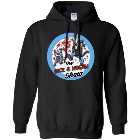 image 793 490x490px Walking Dead: The Rick and Negan Show T Shirt, Hoodies