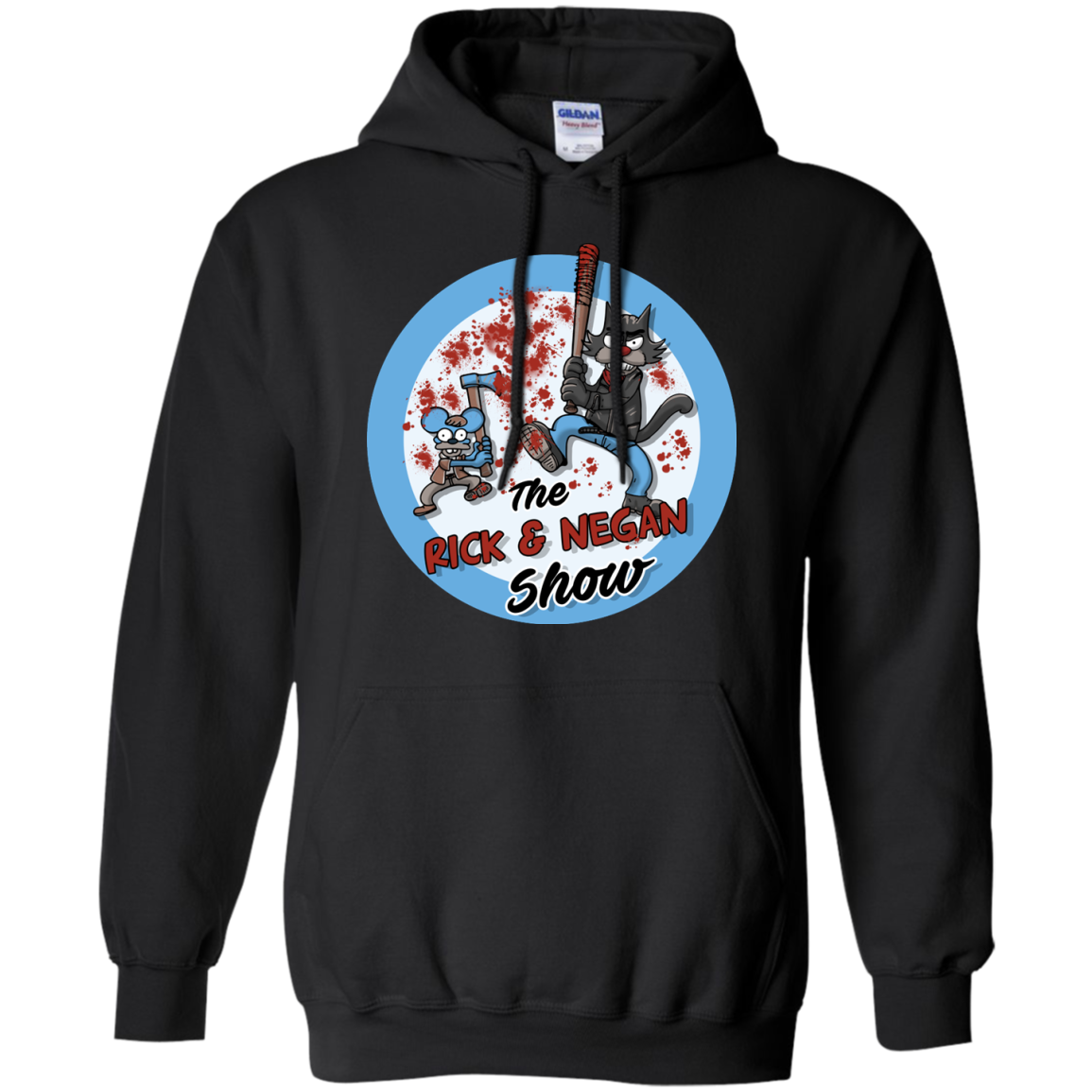 image 793px Walking Dead: The Rick and Negan Show T Shirt, Hoodies