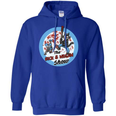image 794 490x490px Walking Dead: The Rick and Negan Show T Shirt, Hoodies