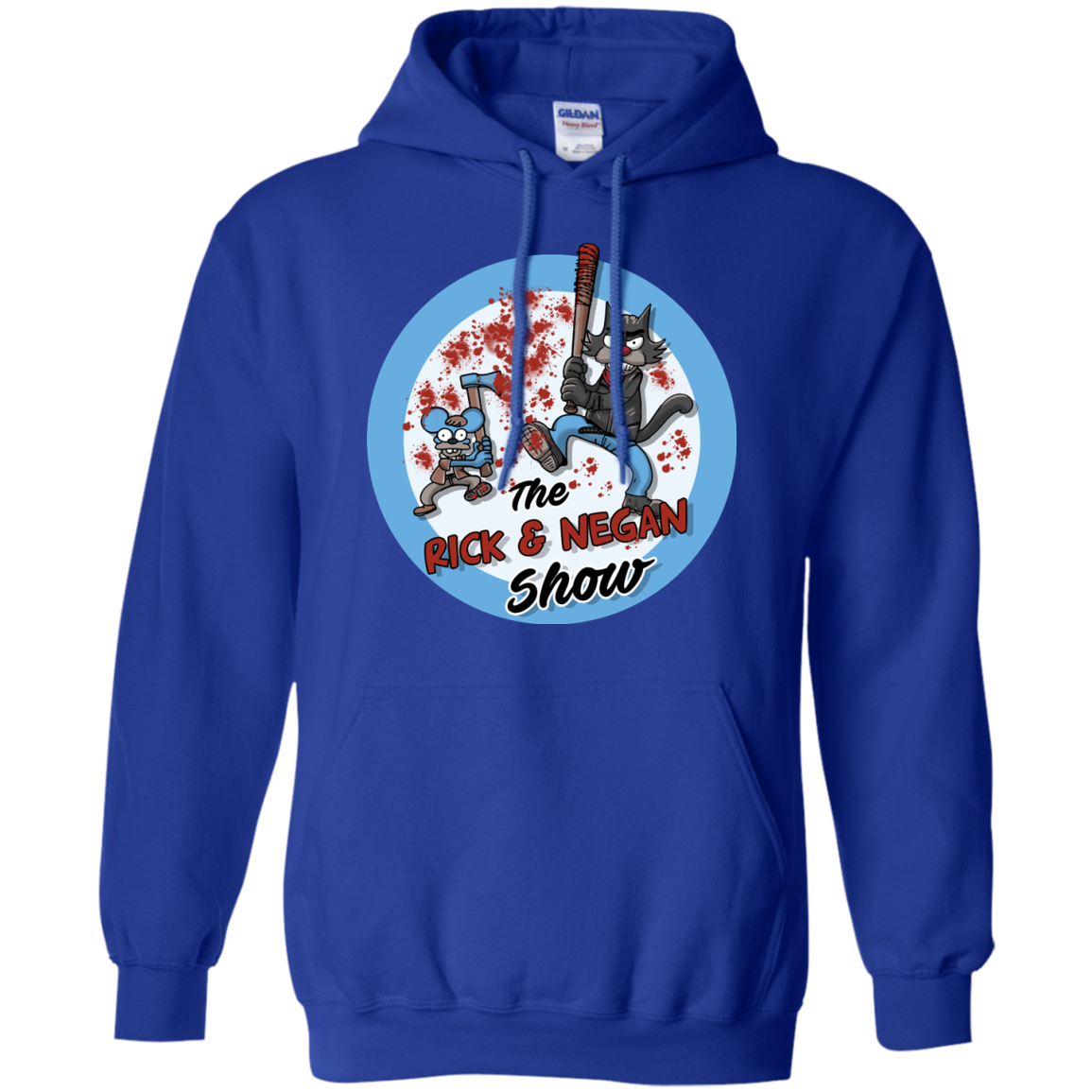 image 794px Walking Dead: The Rick and Negan Show T Shirt, Hoodies