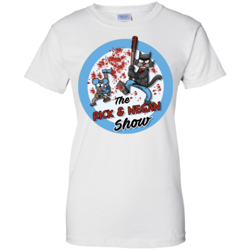 image 795 490x490px Walking Dead: The Rick and Negan Show T Shirt, Hoodies