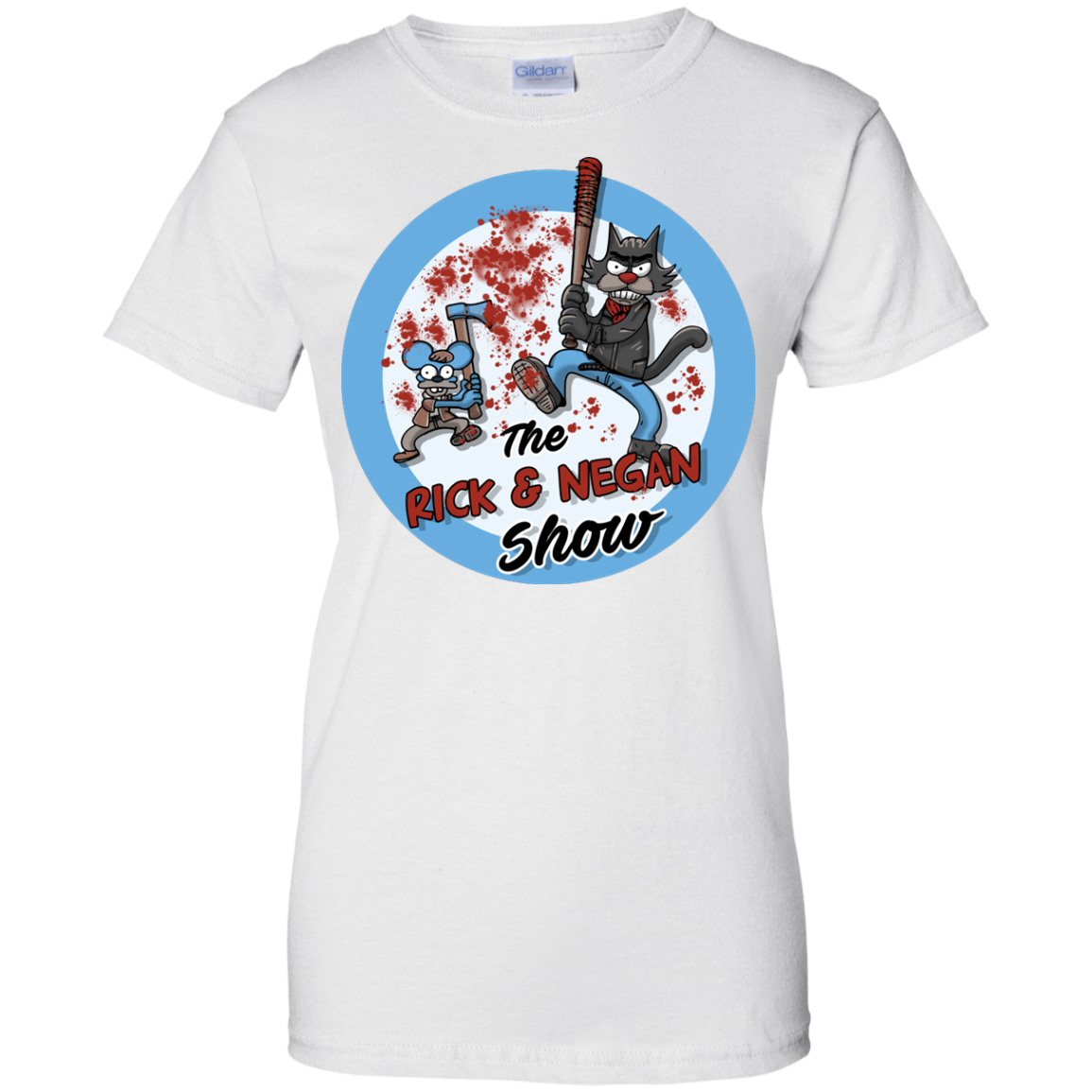 image 795px Walking Dead: The Rick and Negan Show T Shirt, Hoodies