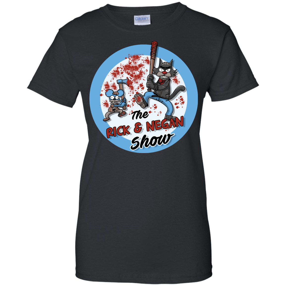 image 796px Walking Dead: The Rick and Negan Show T Shirt, Hoodies