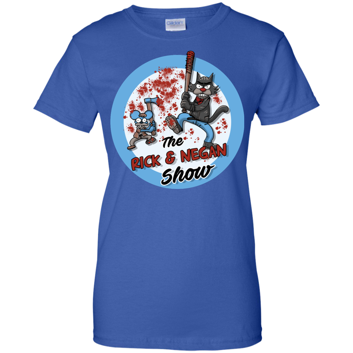image 797px Walking Dead: The Rick and Negan Show T Shirt, Hoodies