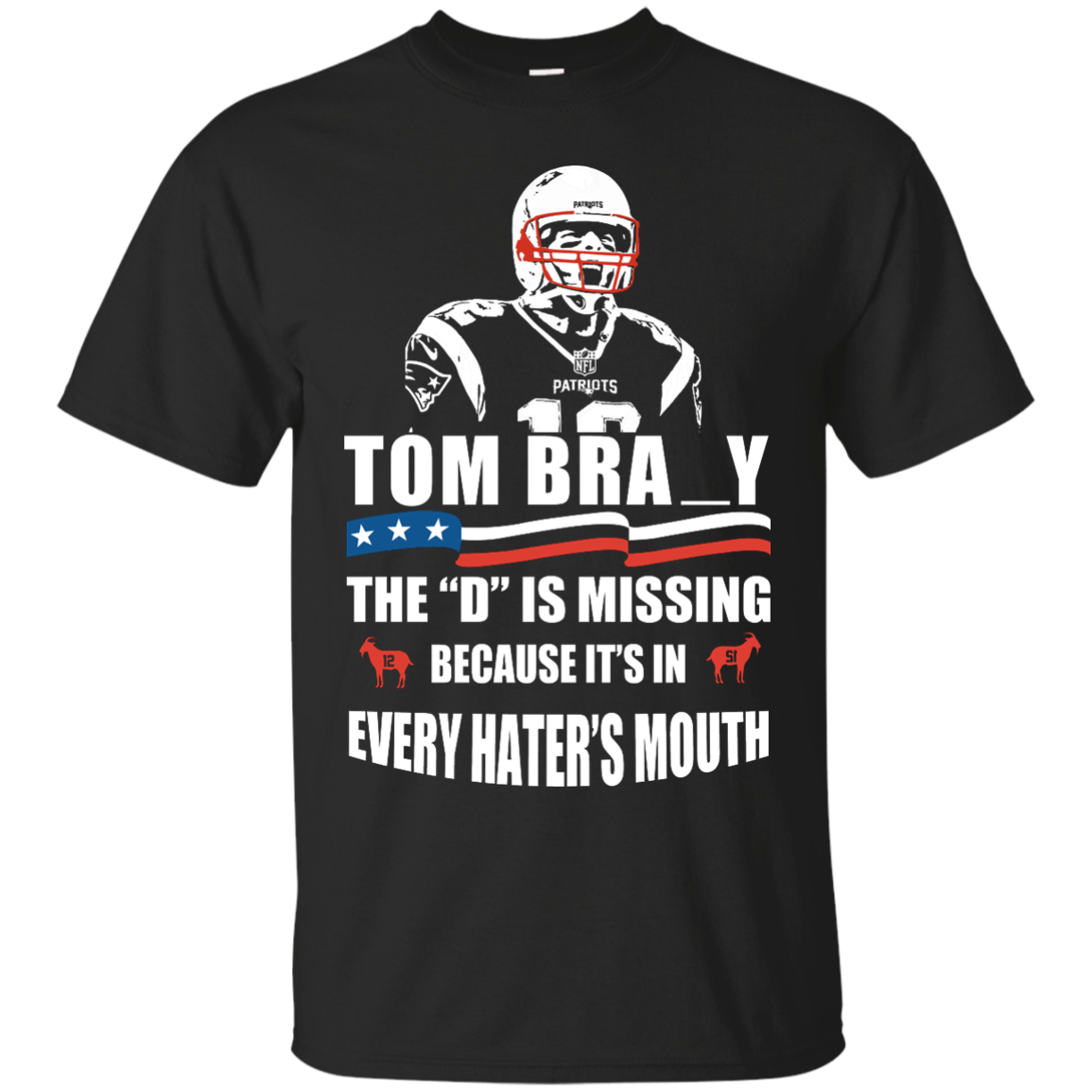 image 8px Tom Brady The D Is Missing T Shirt, Hoodies, Tank