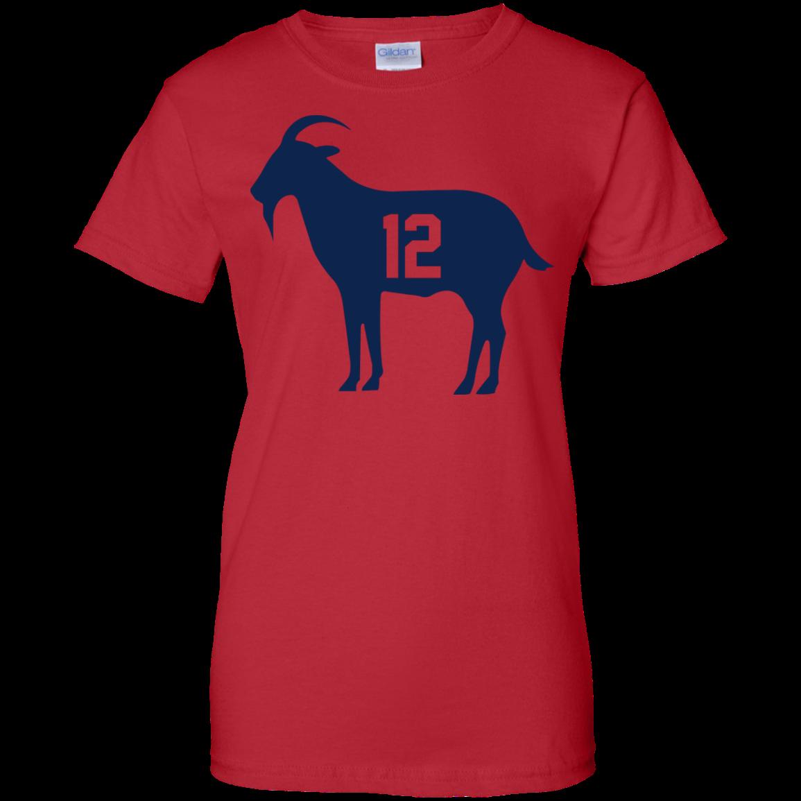 image 83px Goat Tb 12 Tom Brady T Shirt, Hoodies, Tank Top