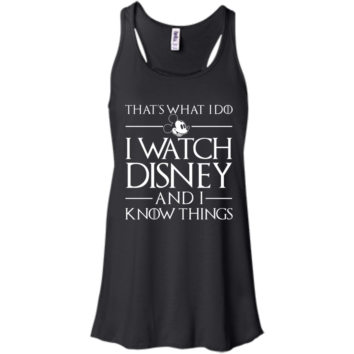 image 856px That's What I Do I Watch Disney and I Know Things T shirt