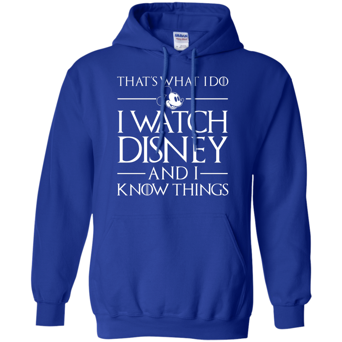 image 860px That's What I Do I Watch Disney and I Know Things T shirt
