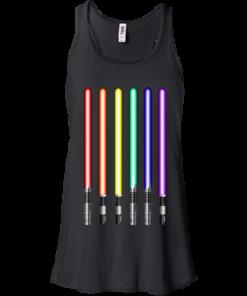 image 878 247x296px Star Wars Lightsaber Rainbow Shirt (Tee Hoodies Tank Top)