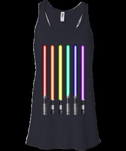 image 879 247x296px Star Wars Lightsaber Rainbow Shirt (Tee Hoodies Tank Top)