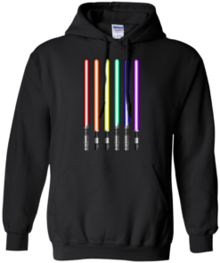 image 880 247x296px Star Wars Lightsaber Rainbow Shirt (Tee Hoodies Tank Top)