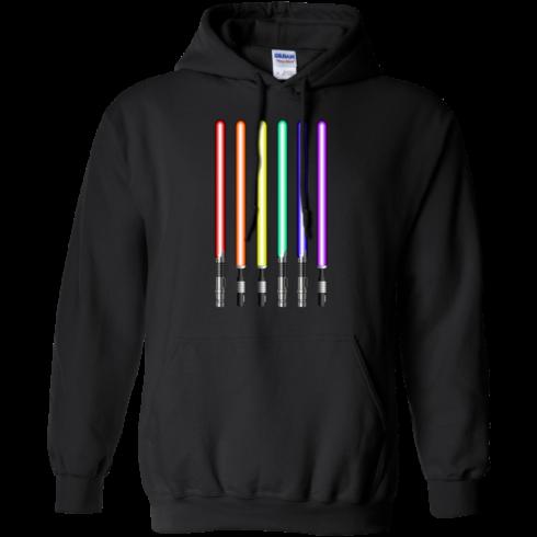 image 880 490x490px Star Wars Lightsaber Rainbow Shirt (Tee Hoodies Tank Top)
