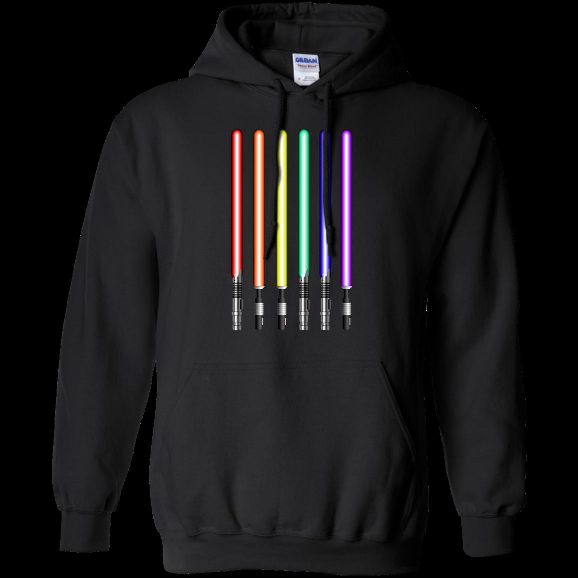 image 880px Star Wars Lightsaber Rainbow Shirt (Tee Hoodies Tank Top)