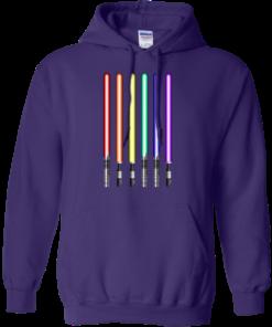 image 881 247x296px Star Wars Lightsaber Rainbow Shirt (Tee Hoodies Tank Top)
