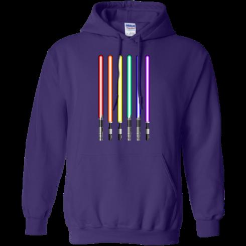 image 881 490x490px Star Wars Lightsaber Rainbow Shirt (Tee Hoodies Tank Top)
