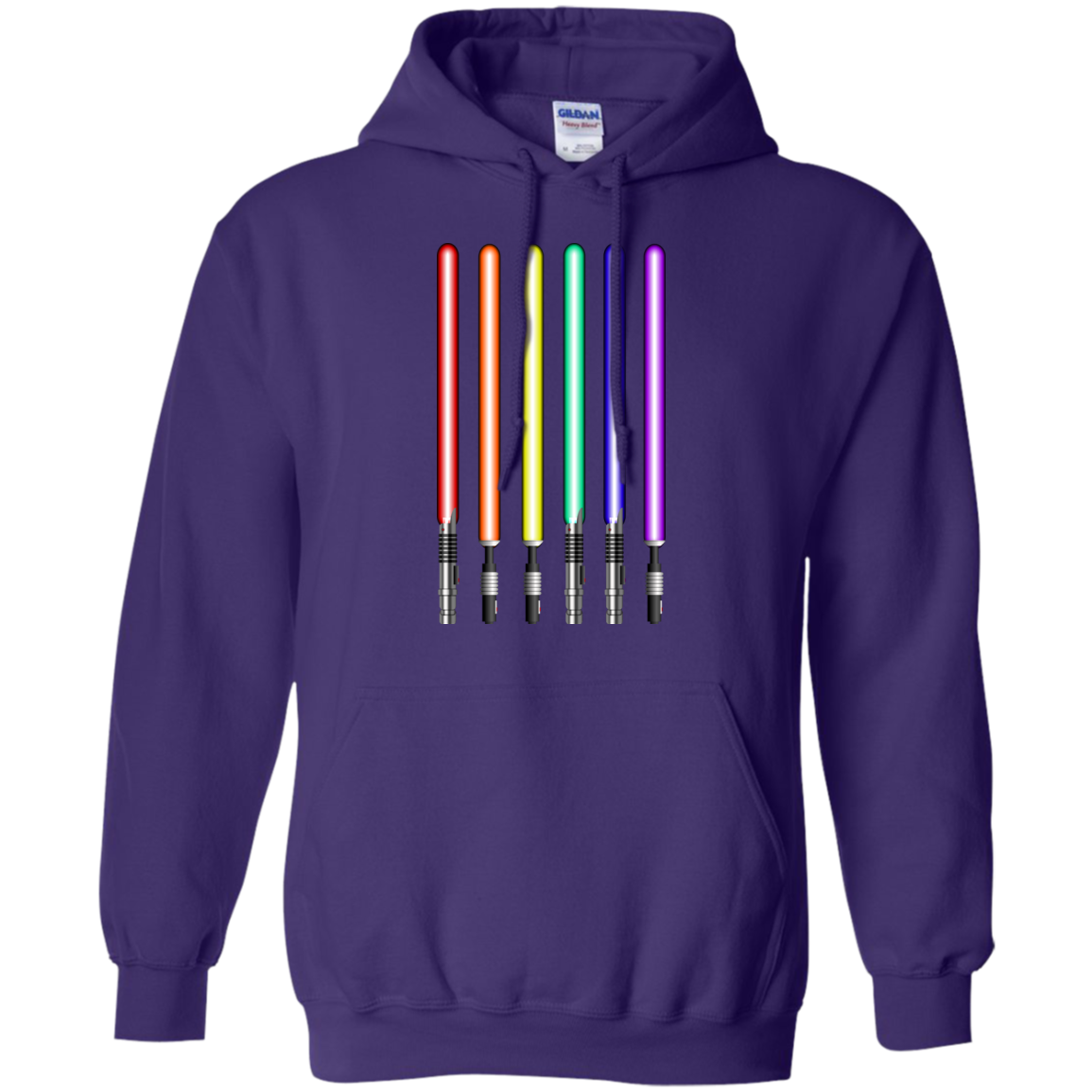 Star Wars Lightsaber Rainbow Shirt Tee Hoodies Tank Top