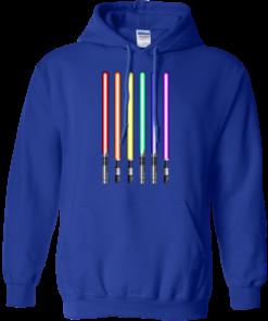 image 882 247x296px Star Wars Lightsaber Rainbow Shirt (Tee Hoodies Tank Top)