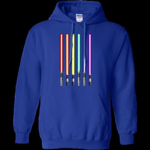 image 882 490x490px Star Wars Lightsaber Rainbow Shirt (Tee Hoodies Tank Top)