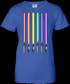 image 885 247x296px Star Wars Lightsaber Rainbow Shirt (Tee Hoodies Tank Top)