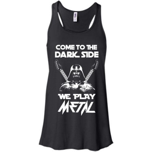 image 889 490x490px Star Wars: Come To The Dark Side We Play Metal T Shirt