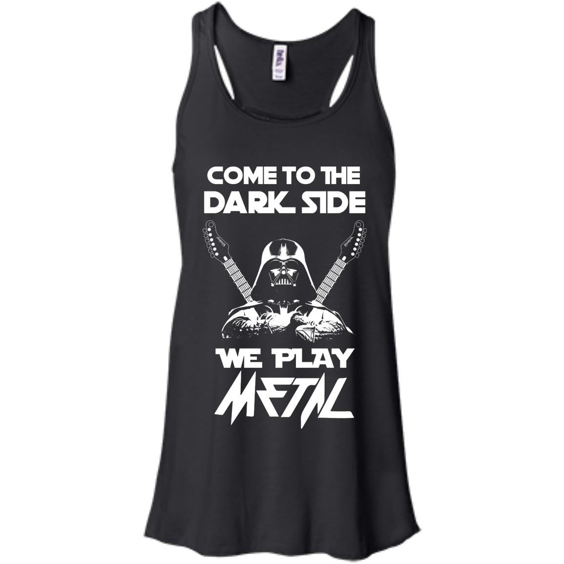 image 889px Star Wars: Come To The Dark Side We Play Metal T Shirt