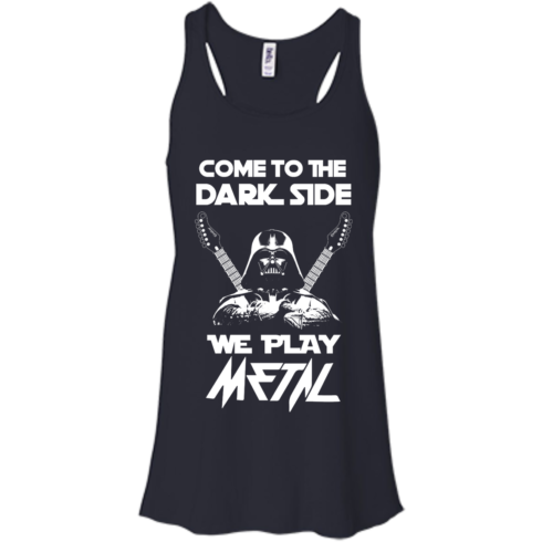 image 890 490x490px Star Wars: Come To The Dark Side We Play Metal T Shirt