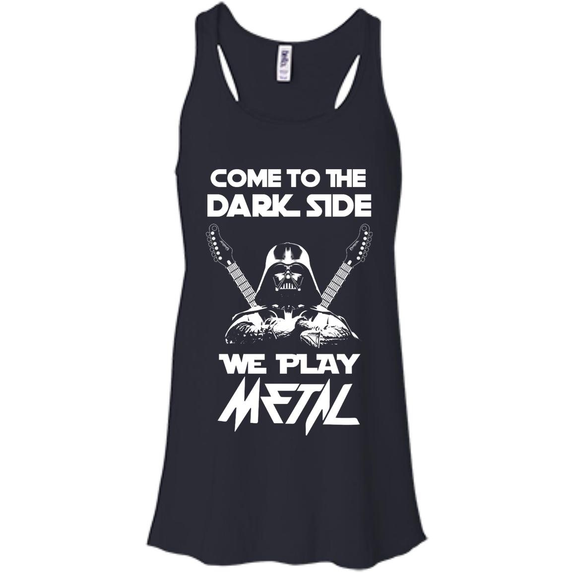 image 890px Star Wars: Come To The Dark Side We Play Metal T Shirt