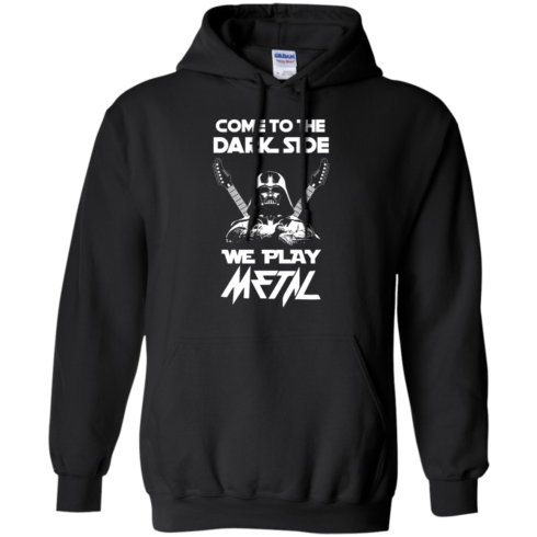 image 891 490x490px Star Wars: Come To The Dark Side We Play Metal T Shirt