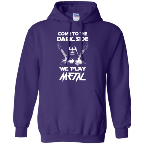 image 892 490x490px Star Wars: Come To The Dark Side We Play Metal T Shirt