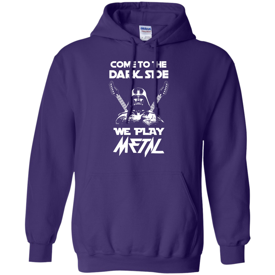 image 892px Star Wars: Come To The Dark Side We Play Metal T Shirt