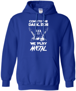 image 893 247x296px Star Wars: Come To The Dark Side We Play Metal T Shirt