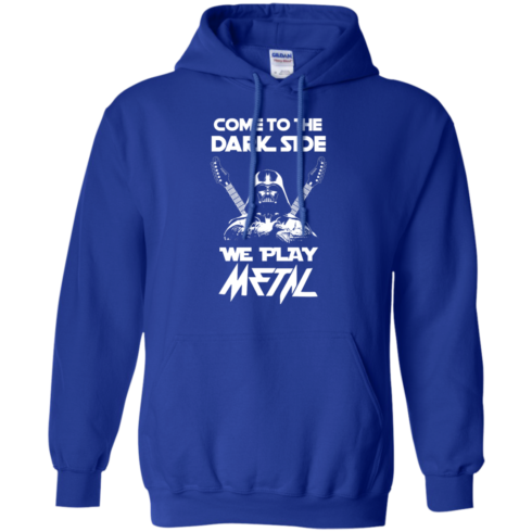 image 893 490x490px Star Wars: Come To The Dark Side We Play Metal T Shirt
