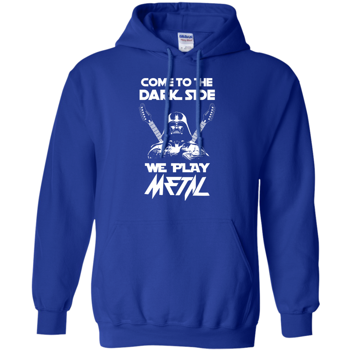 image 893px Star Wars: Come To The Dark Side We Play Metal T Shirt