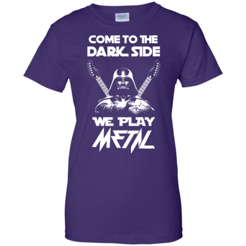 image 895 490x490px Star Wars: Come To The Dark Side We Play Metal T Shirt