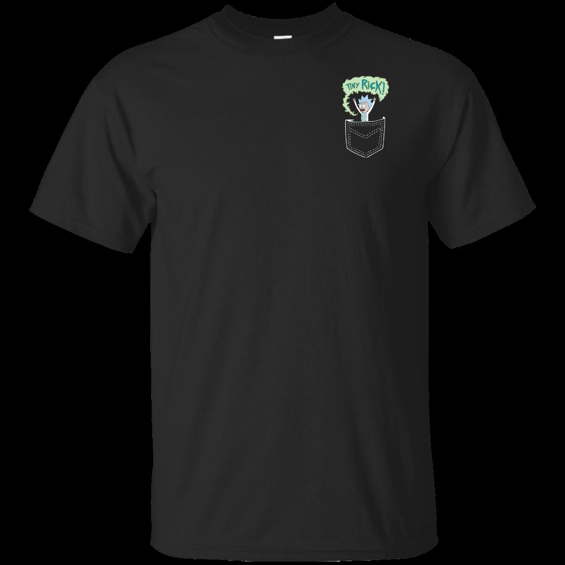 image 897px Rick and Morty: Tiny Rick Pocket T Shirt