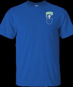 image 899 247x296px Rick and Morty: Tiny Rick Pocket T Shirt