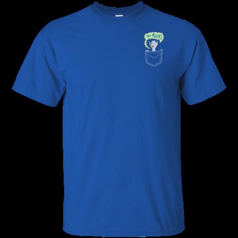 image 899 490x490px Rick and Morty: Tiny Rick Pocket T Shirt