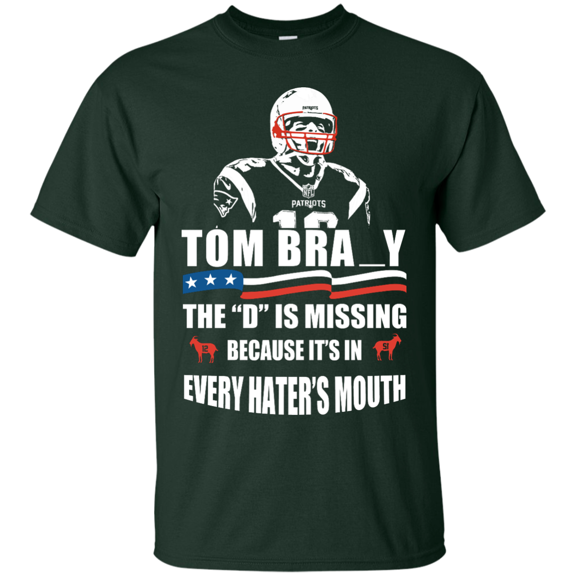image 9px Tom Brady The D Is Missing T Shirt, Hoodies, Tank