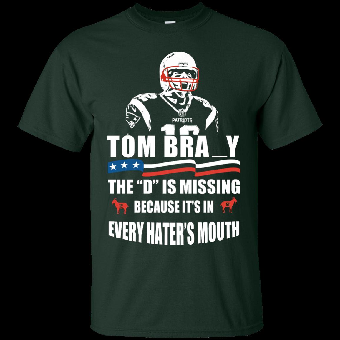 Tom Brady The D Is Missing T-Shirt, Hoodies, Tank