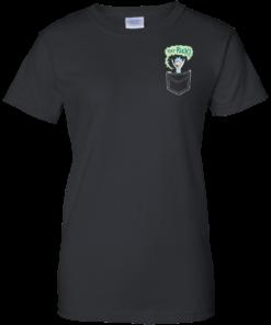 image 905 247x296px Rick and Morty: Tiny Rick Pocket T Shirt
